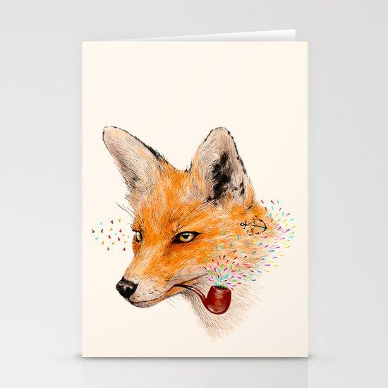 Fox VI Stationery Card