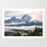 Wattsmann from Berchtesgaden Art Print