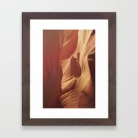 Antelope Canyon 2 Framed Art Print