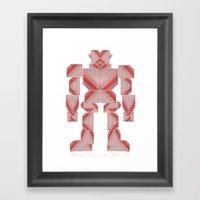 Jaeger //: Pixel Framed Art Print