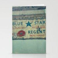 Blue Star Regent Stationery Cards