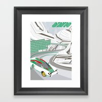 Stratos Framed Art Print