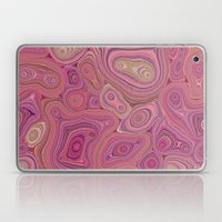 Mineralicious-Pink Agate Laptop & iPad Skin