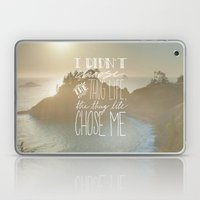 Oddly Placed Quotes 2 : … Laptop & iPad Skin
