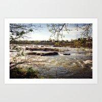 Spring River Art Print