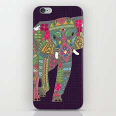painted elephant iPhone & iPod Skin