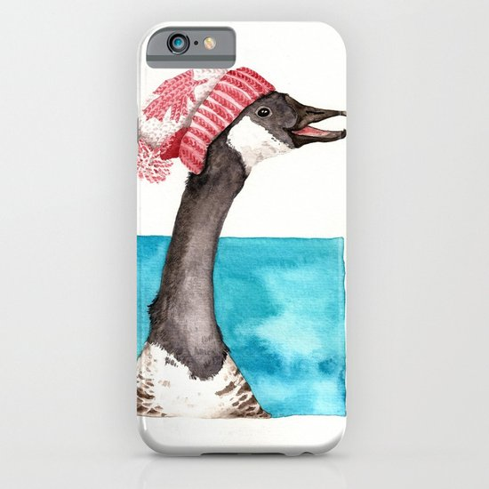 Canada Goose in a Canada Toque iPhone & iPod Case