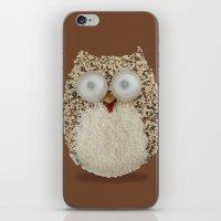 Specs, The Grainy Owl! iPhone & iPod Skin