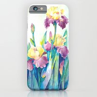 iPhone & iPod Case featuring Irises by Glashka