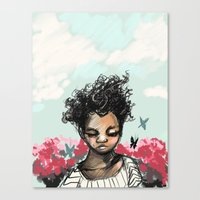 The Most Beautiful Flowe… Canvas Print