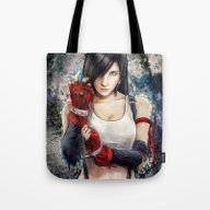 Final Fantasy VII Tifa L… Tote Bag