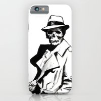 iPhone & iPod Case featuring Skeleton Expatriate by Zombie Rust