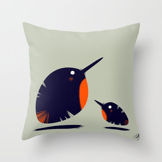 Of a Feather 1 Throw Pillow