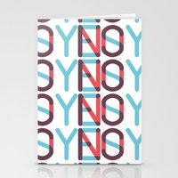 Yes/No Stationery Cards