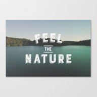 Canvas Print featuring Feel The Nature by Aguvagu
