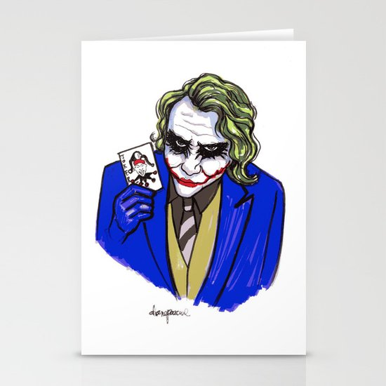 Joker Stationery Card