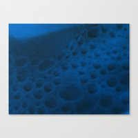 On The Blue Moon Canvas Print