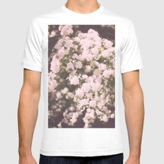 may flowers Mens Fitted Tee White SMALL