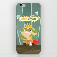 The Ruthless Kingcobra iPhone & iPod Skin