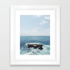 Ocean Rock Framed Art Print