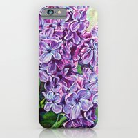 iPhone & iPod Case featuring Lilacs  by Morgan Ralston