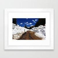 Colorado In July Framed Art Print