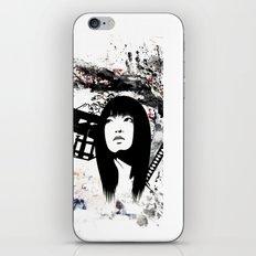 Japanese Geisha Warrior iPhone & iPod Skin