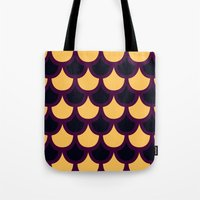 Scallop Pattern Tote Bag