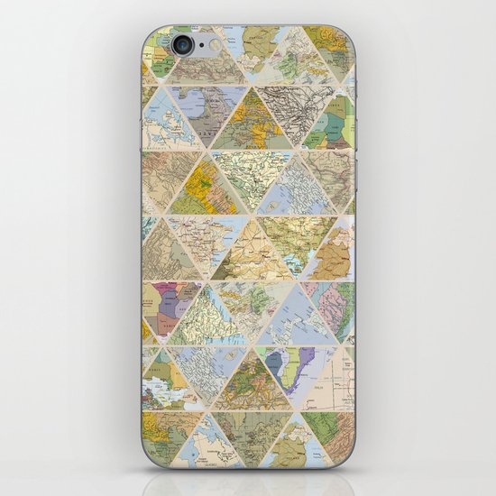 LOST & FOUND iPhone & iPod Skin