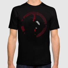 Dead Pool Mens Fitted Tee Black SMALL