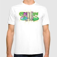 Beyond Gone Mens Fitted Tee White SMALL