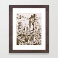 The Tilhilnilian Highway Framed Art Print