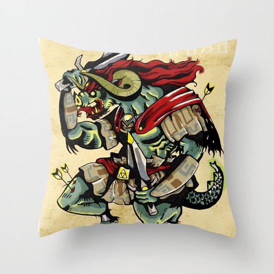 Ganon Throw Pillow