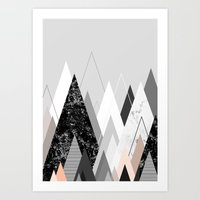 Graphic 124 Art Print