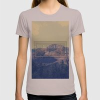 Not all Who Wander are Lost Womens Fitted Tee Cinder SMALL