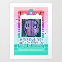 boo Art Print