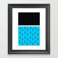 Ahoy There, Matey Framed Art Print