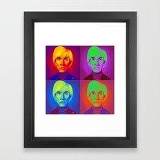 Celebrity Sunday - Andy … Framed Art Print
