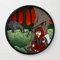 Little Red Riding Hood V… Wall Clock