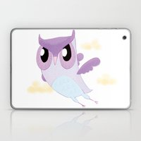 Purple Owl Laptop & iPad Skin
