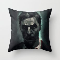 Rust Cohle Throw Pillow