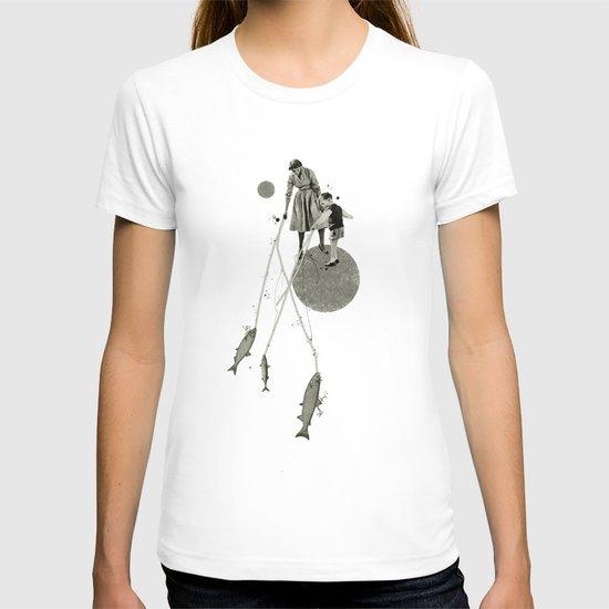 April | Collage T-shirt