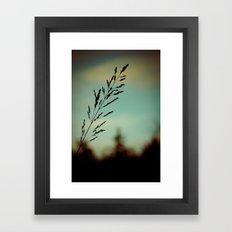 Simple. Framed Art Print