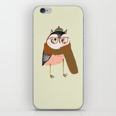Owls Love Scarfs.  iPhone & iPod Skin