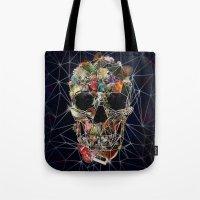 Fragile Skull Tote Bag