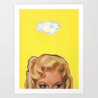 Partly Sunny Art Print