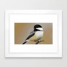 Chickadee-dee-dee Framed Art Print