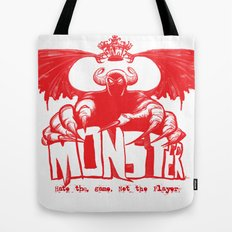 Game monster  Tote Bag