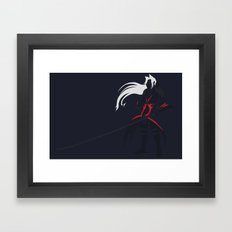 Kingdom Hearts - Sephiroth Framed Art Print