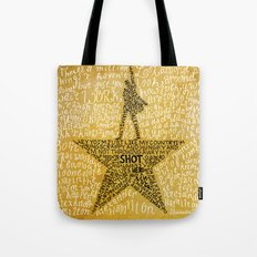 Hamilton The Musical Tote Bag